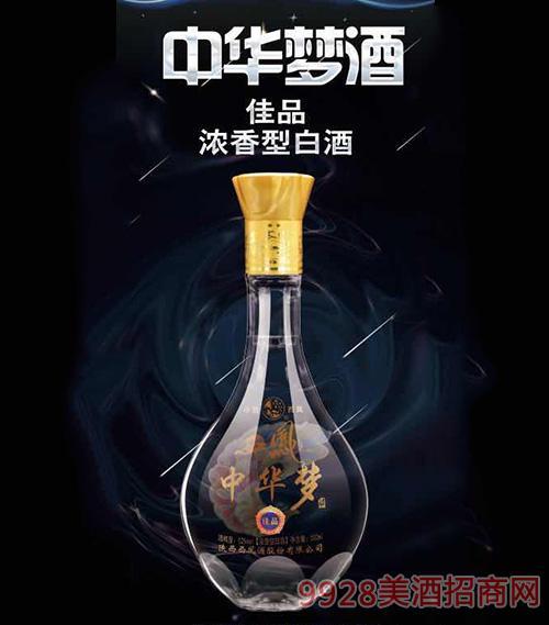 中华梦西凤酒佳品52度