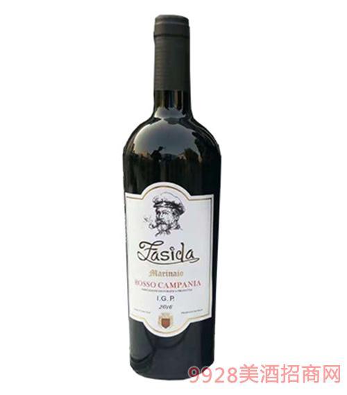 法斯达干红葡萄酒15度750ml
