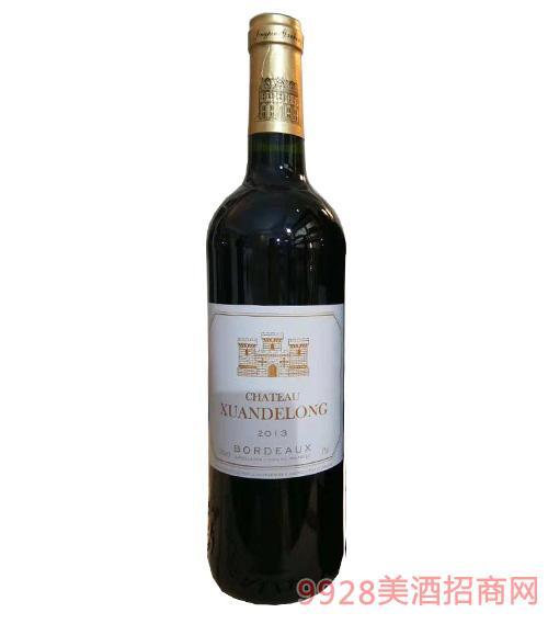 拉图堡侯爵干红葡萄酒750ml
