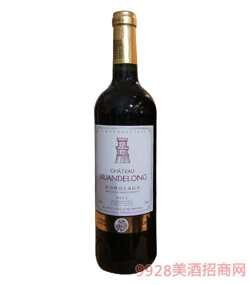 拉图堡伯爵干红葡萄酒13度750ml