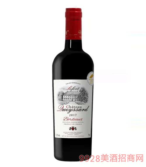 法国拉甫特波尔多城堡红葡萄酒13.5度750ml
