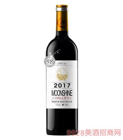 月光谷甄选西拉干红葡萄酒14度750ml