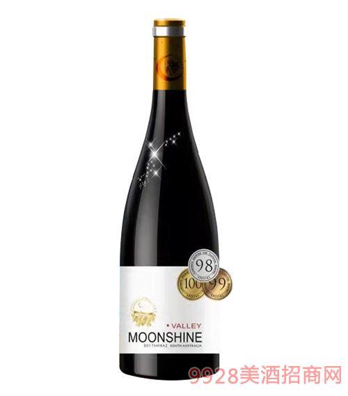 月光谷特选西拉干红葡萄酒750Ml