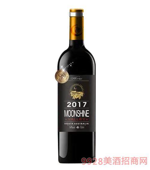 月光谷优选西拉干红葡萄酒750Ml