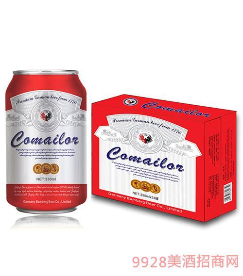 德国卡麦罗啤酒易拉罐330mlx24