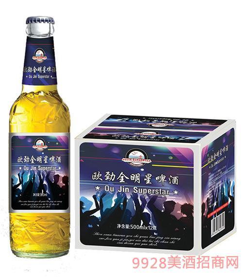 全明星啤酒500mlx12