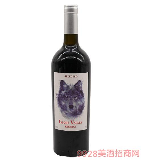 光辉山谷赤霞珠珍藏干红葡萄酒2016