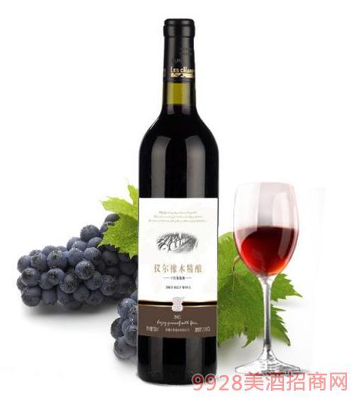 仪尔橡木精酿干红葡萄酒
