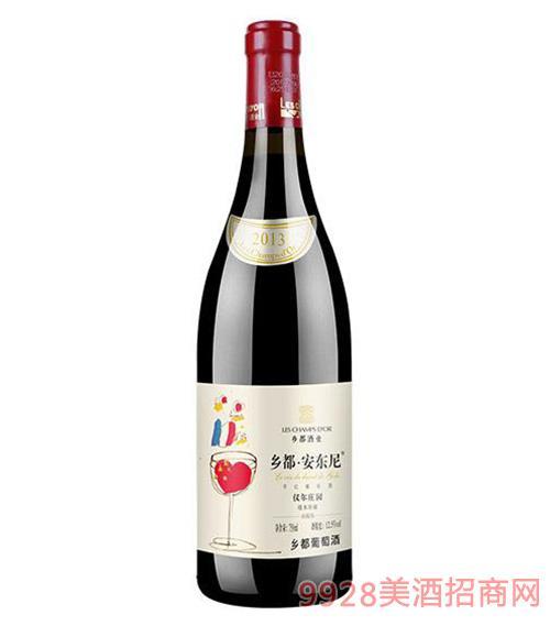 乡都有机安东尼干红葡萄酒750ML