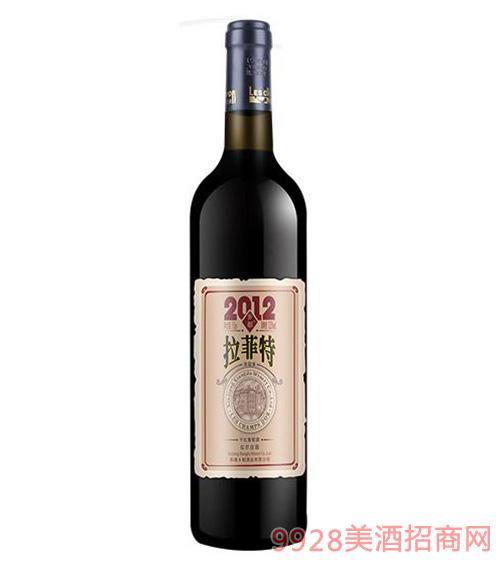 乡都有机拉菲特干红葡萄酒750ML