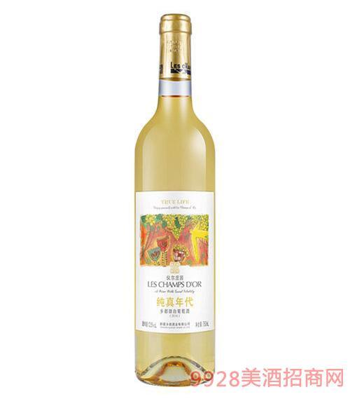 乡都有机甜白葡萄酒750Ml