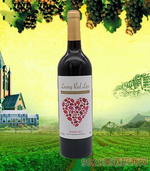 唇情恋·吉蜜西拉干红葡萄酒