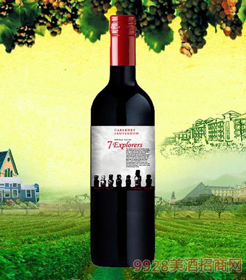 七巨人精选赤霞珠干红葡萄酒
