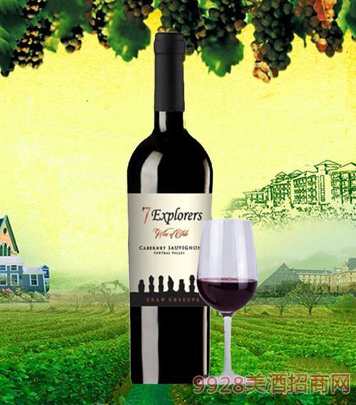 七巨人特级珍藏赤霞珠干红葡萄酒