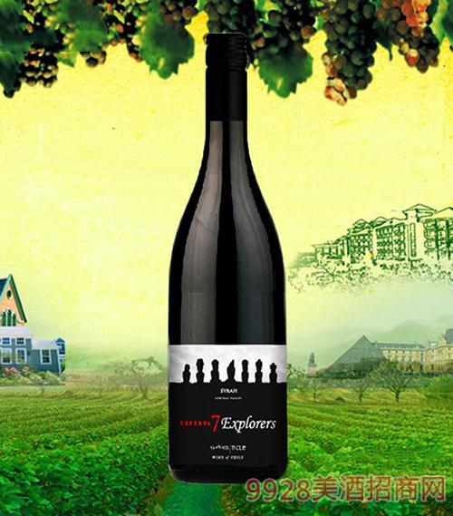 七巨人珍藏西拉干红葡萄酒