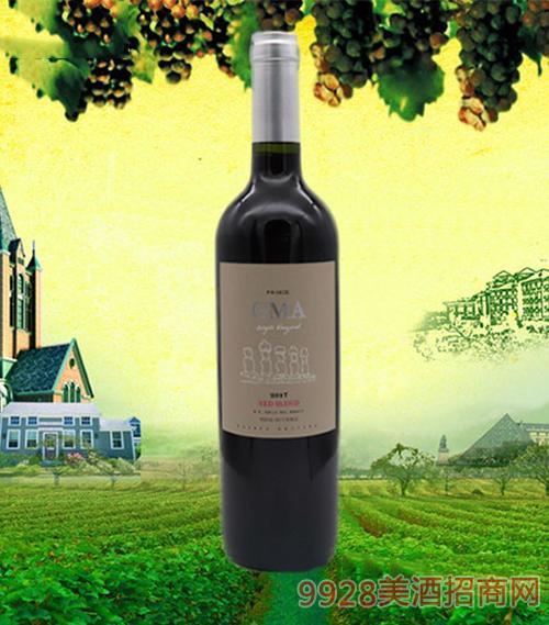 智利神秘岛王子干红葡萄酒葡萄酒