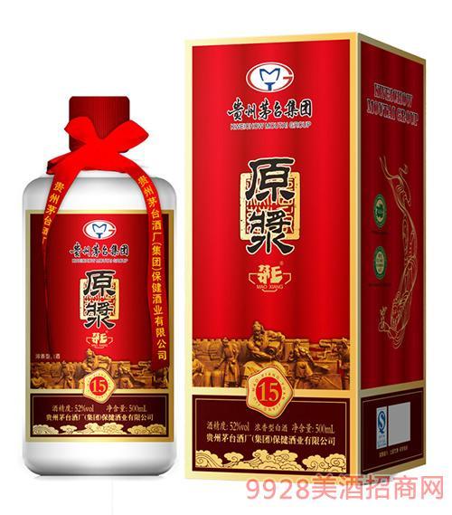 茅乡牌原浆酒15-52度500ml