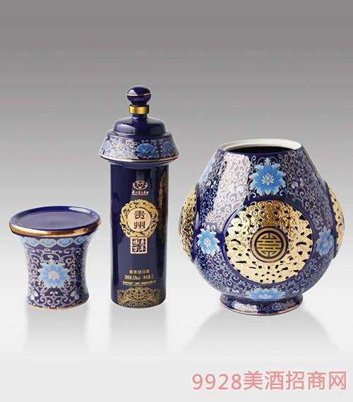 贵州牌福寿万年酒53度500ml