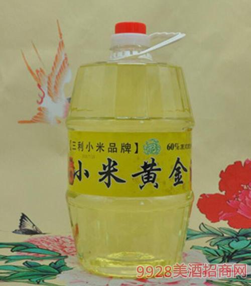 小米黄金桶装酒