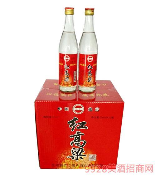 红高粱酒42度500mlx12