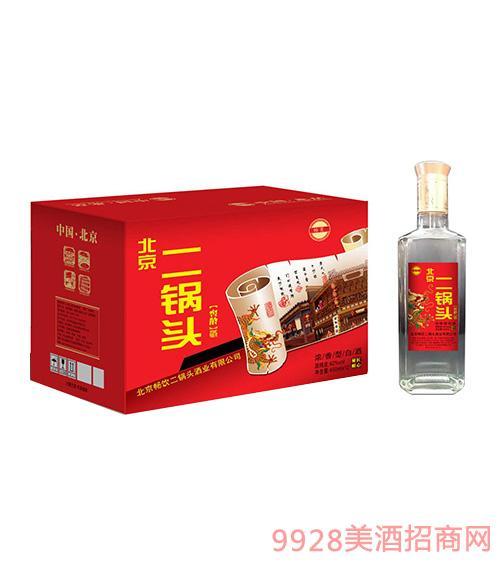 北京二锅头窖龄酒42度450mlx12浓香