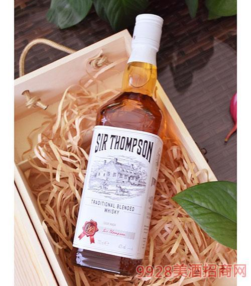 汤姆森威士忌酒700ML