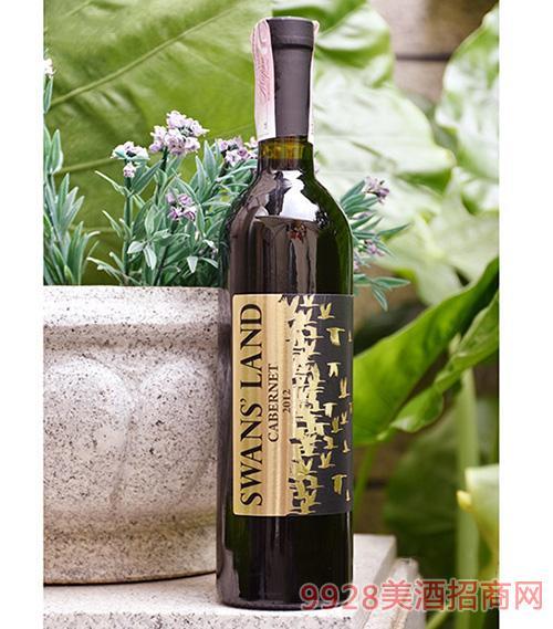 2012年解百納干紅葡萄酒750ML