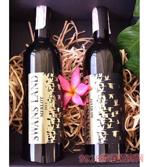 2012年梅洛干红葡萄酒750ML