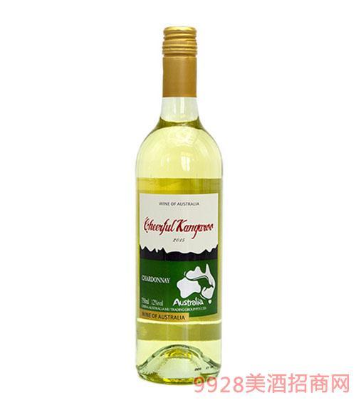 喜悦袋鼠-霞多丽干白葡萄酒
