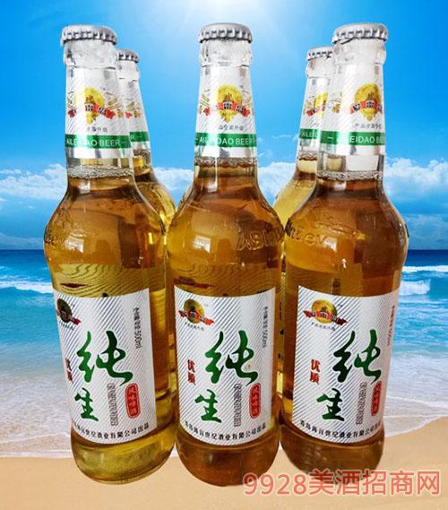 爱雷岛优质纯生啤酒500ml