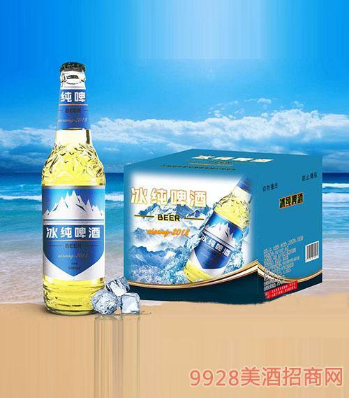 冰纯啤酒500ml×12瓶