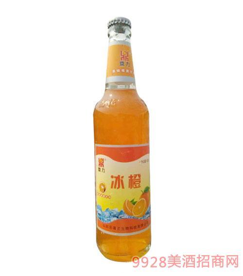 冰橙果味碳酸饮料