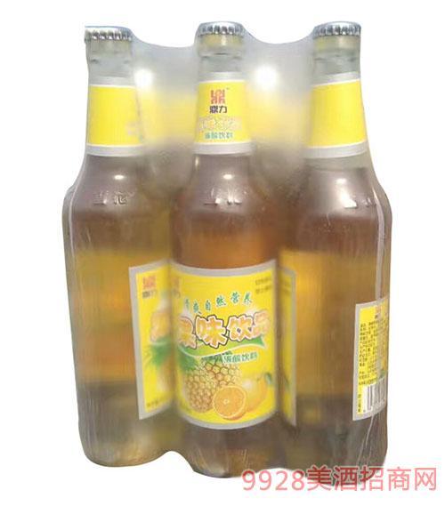 青伦鼎力果味饮品碳酸饮料