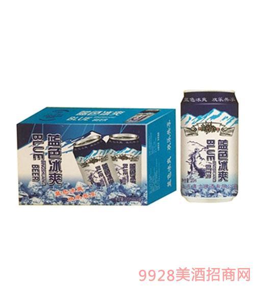 喜力藍色冰爽啤酒