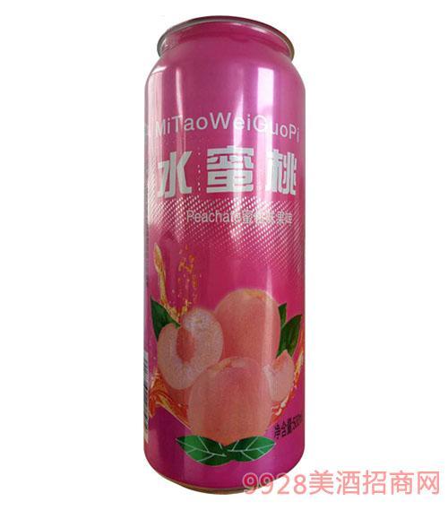水蜜桃蜜桃味果啤