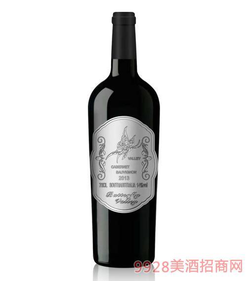 澳大利亚蝴蝶谷酒庄干红葡萄酒银标750ml