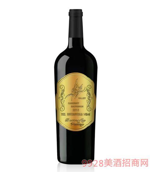 澳大利亚蝴蝶谷酒庄干红葡萄酒金标750ml