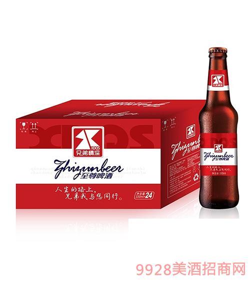兄弟情深至尊啤酒330ml
