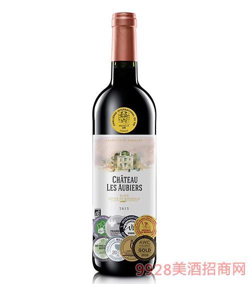 法国阿彼斯庄园干红葡萄酒