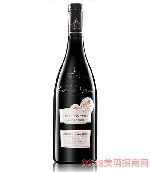 黑岩干红葡萄酒14度750ml