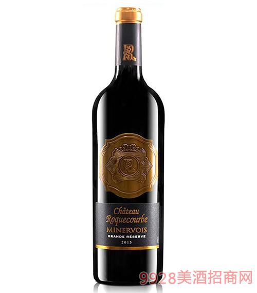 洛克伯格庄园干红葡萄酒13.5度750ml