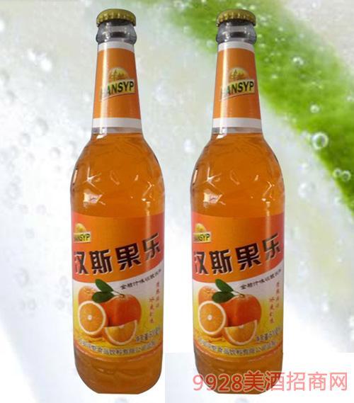 汉斯果乐金桔汁碳酸饮料