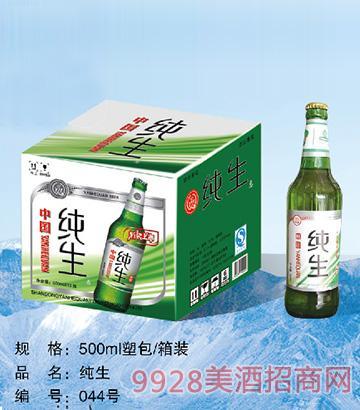 纯生啤酒500ml