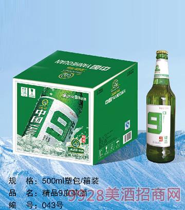 精品9度啤酒500ml