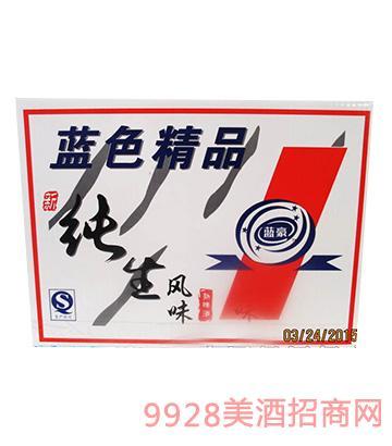 蓝豪纯生风味熟啤酒500ml