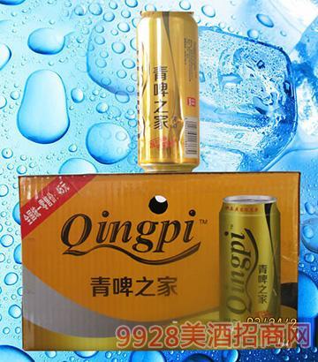 青啤之家啤酒10度500ml×12罐(箱)
