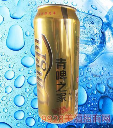 青啤之家啤酒10度500ml