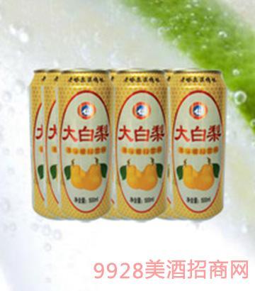 海润德大白梨果味饮料500ml×9罐