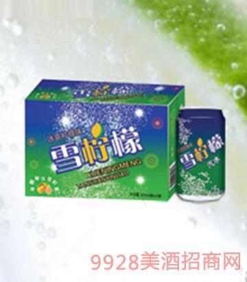 海润德雪柠檬碳酸饮料320ml×24罐