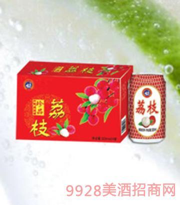 海润德珍品荔枝饮品320ml×24罐